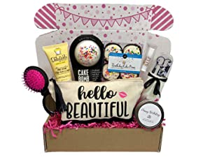 Women's Birthday Gift Box Set 8 Unique Surprise Gifts For Wife, Aunt, Mom, Girlfriend, Sister from Hey, It's Your Day Gift Box Co.