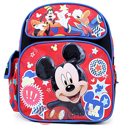 4befdc28cdc1 Amazon.com | Disney Mickey Mouse Friends Medium School Backpack 12 ...