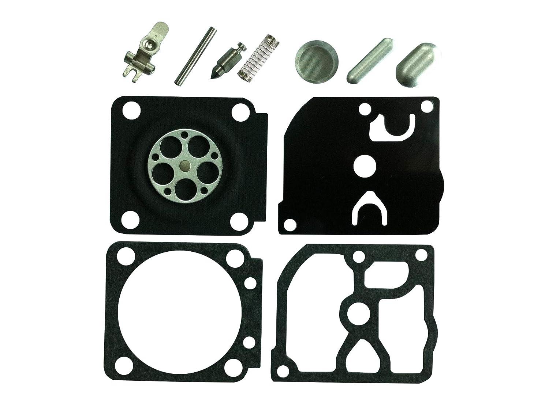 Carburateur r/éparation//Rebuild kit Remplace Zama Rb-77/pour Stihl 430/017/018/MS170/MS180