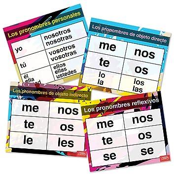 "Pronombres Pro ""gráficos de español (Set ..."