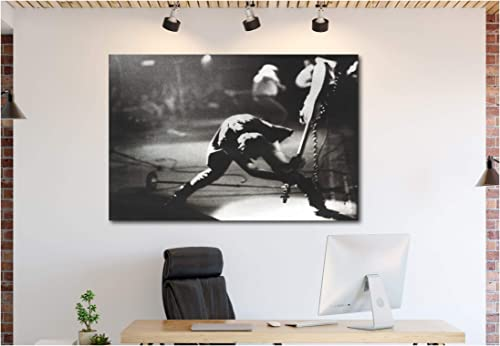 The Clash Canvas Wall Art