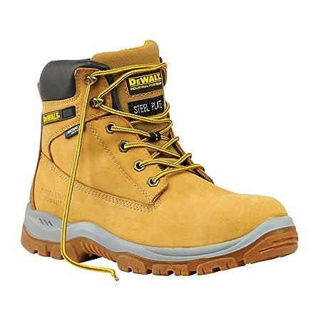 e1bbc955888 DeWalt Titanium Safety Boots Honey Size 11: Amazon.co.uk: DIY & Tools