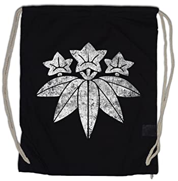 Amazon.com: Minamoto clan Mon bolsa de cordón Shogun Samurai ...