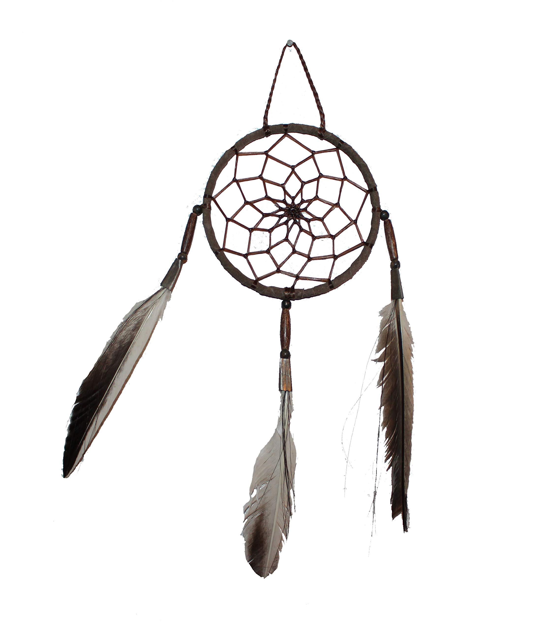 Native American Handmade Authentic Dream Catcher 4'' Diameter