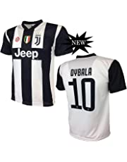 33a6ebf4491d1 Juventus F.C. MAGLIA DYBALA 10 JUVENTUS replica prodotto ufficiale 2018 19  autorizzato JJFC bambino (