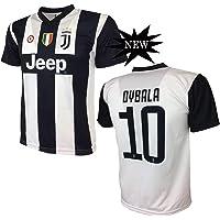 Maglia Dybala 10 Juventus Replica Prodotto Ufficiale 2018/19 Autorizzato JJFC Bambino (Taglie 2 4 6 8 10 12) Adulto (S M L XL)