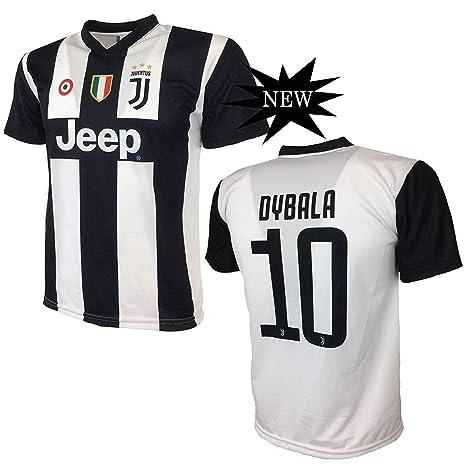fa98f0aaba Juventus F.C. MAGLIA DYBALA 10 JUVENTUS replica prodotto ufficiale 2018/19  autorizzato JJFC bambino (