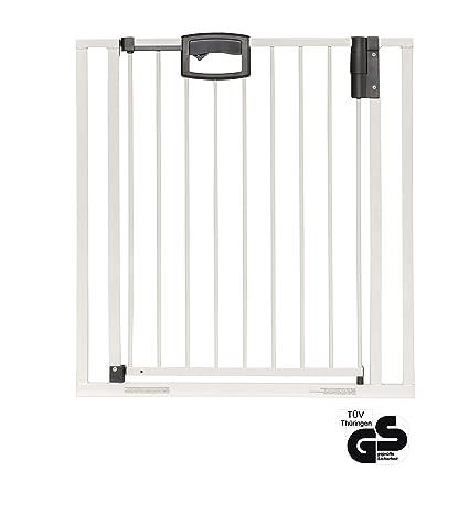 Geuther - Türgitter Easylock 4791, Weiß-Silber