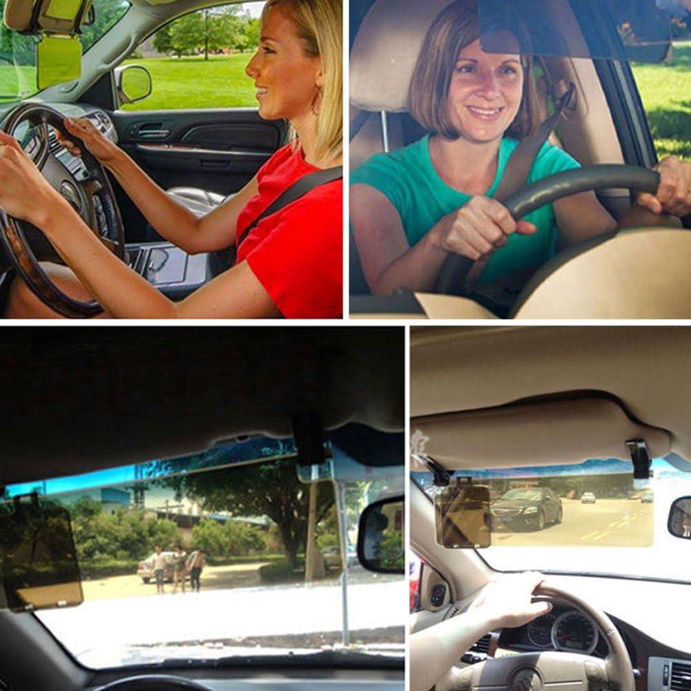 Auto Anti-Glare HD Sonnenblende Shield Clear Extender Sonnenblenden Transporter Fahrzeuge Lionina Car Visor Sunshade Vehicle Sun Blocker f/ür Autos Universal-Tag- und Nachtsicht-Augenschutz