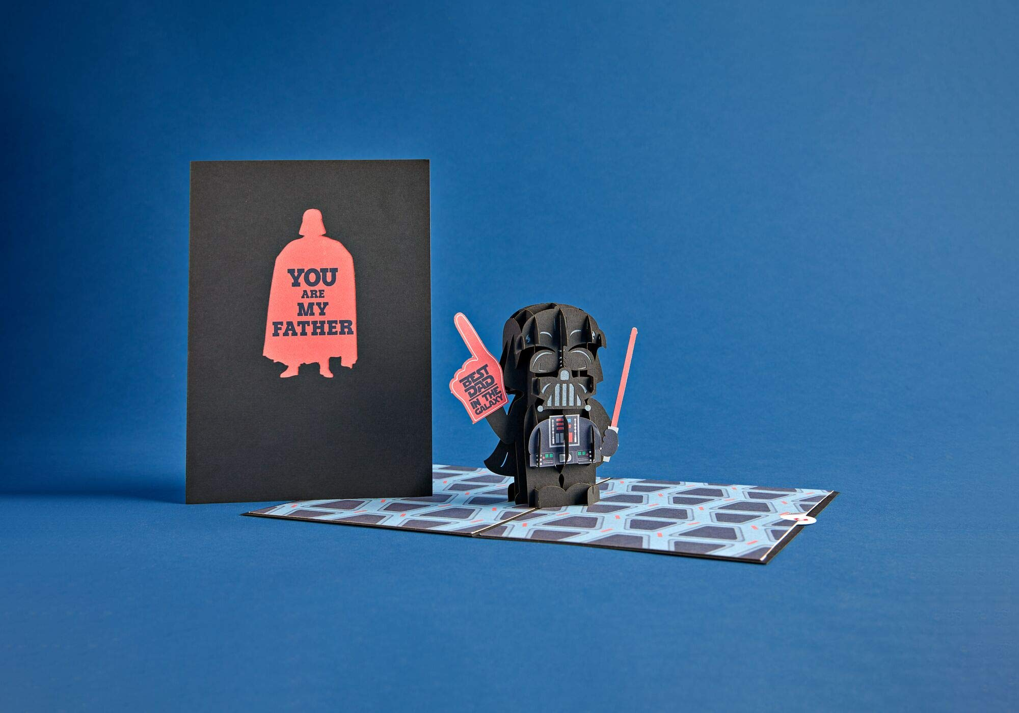 Lovepop Star Wars Darth Vader Best Dad Pop Up Card, Father's Day Card, Greeting Card, Dad Card, 3D Cards, Birthday Card, Greeting Card, Card for Dad by Lovepop (Image #4)