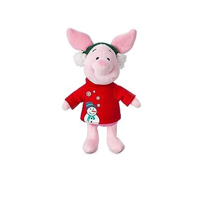 Disney Piglet Holiday Plush – Mini Bean Bag – 8 Inch: Toys & Games