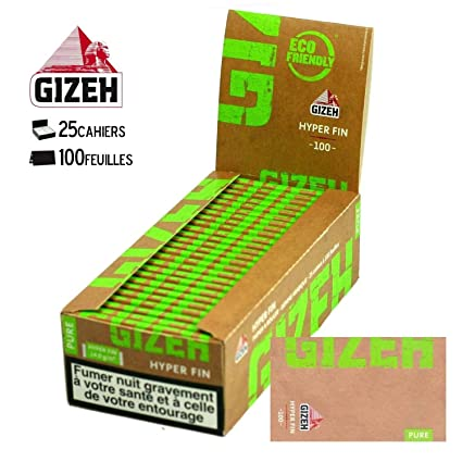 Gizeh Box of 25 Hyper Thin Rolling Paper