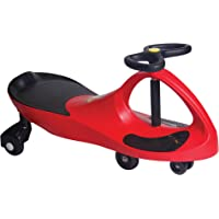 The Original PlasmaCar® by PlaSmart – Red – Ride On Toy, Ages 3 yrs and Up, No Batteries, Gears, or Pedals, Twist, Turn, Wiggle for Endless Fun