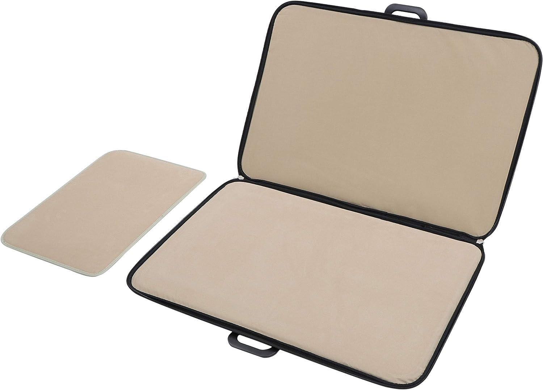 Jigitz Jigsaw Puzzle Board Carrying Case Zip-Up Portable Puzzle Table Foldable Puzzle Mat Case with Organizer Trays