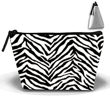 Amazon Com Black Zebra Stripes Cosmetic Bags Travel Toiletry Pouch