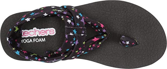 Skechers Meditation 86991L Girls Toddler-Youth Sandal
