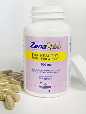 Amazon.com: Zanaquick Strong Nail Capsules Nail Fungal Treatment Stronger Nails 500 mg, Nail Fungus Treatments: Health & Personal Care