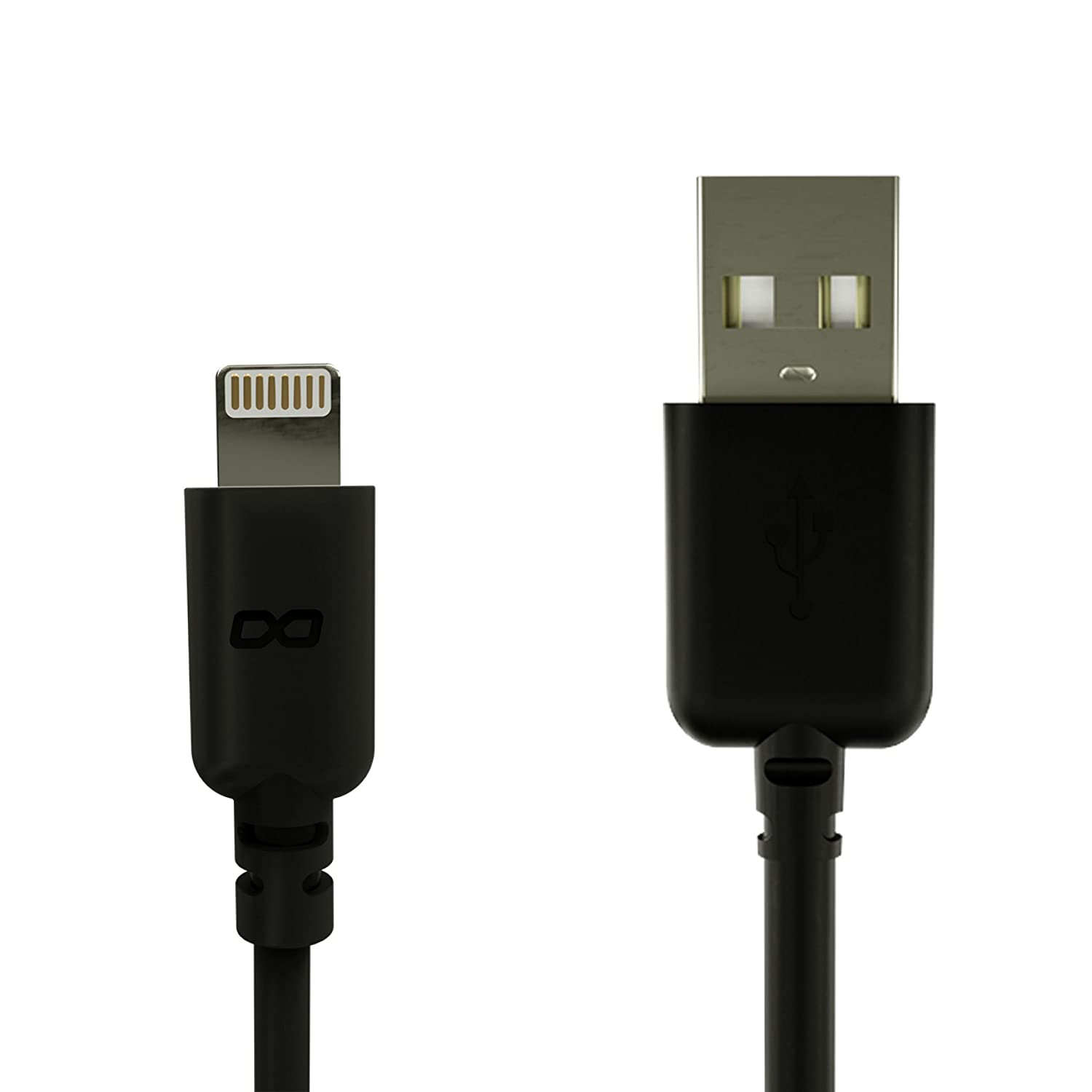 0.5 Meters 20 Inches KwikBoost Apple MFi Certified Lightning to USB Charge /& Sync Cable for iPhone 7//6s//6//5s//5c//5//Plus//iPad Mini//Air//Pro - Black