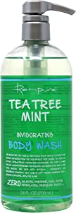 Renpure Originals tea tree mint body wash, 24 Ounce