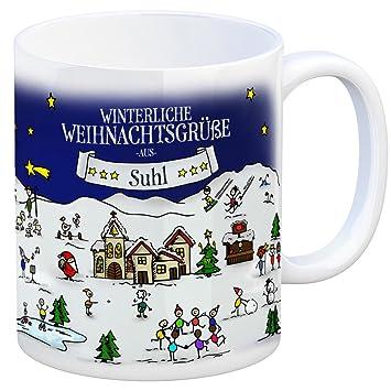 Suhl Weihnachtsmarkt.Trendaffe Suhl Weihnachten Kaffeebecher Mit Winterlichen