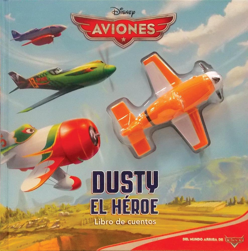 LIBRO DE CUENTOS CON PROYECTOR: AVIONES DUSTY EL HEROE: BILL ...
