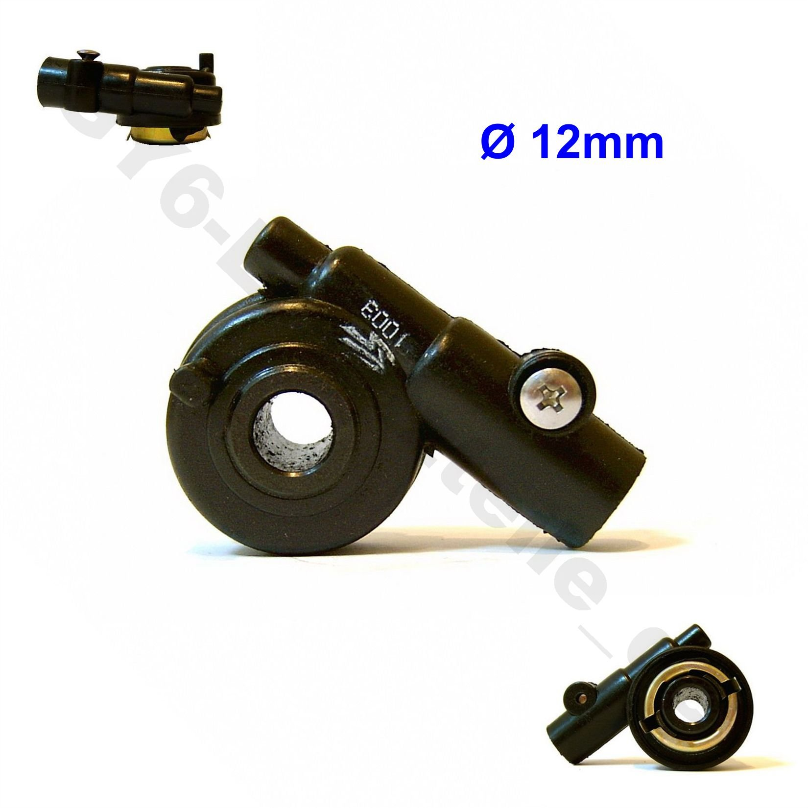 Qiilu 12mm Speedometer Drive Gear with 100cm Cable for GY6 50cc 150 cc Scooter Parts