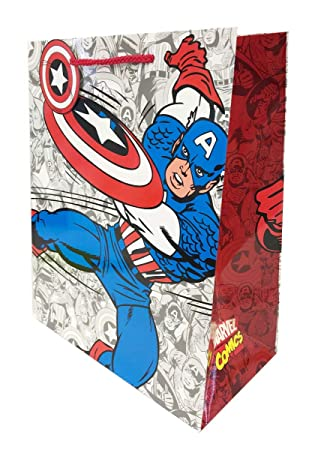 Bolsa de regalo, extragrande, diseño de cómic de Marvel ...