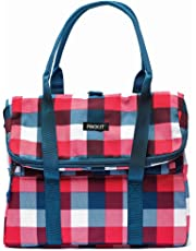 Packit Freezable Picnic Tote Bag, Buffalo Check
