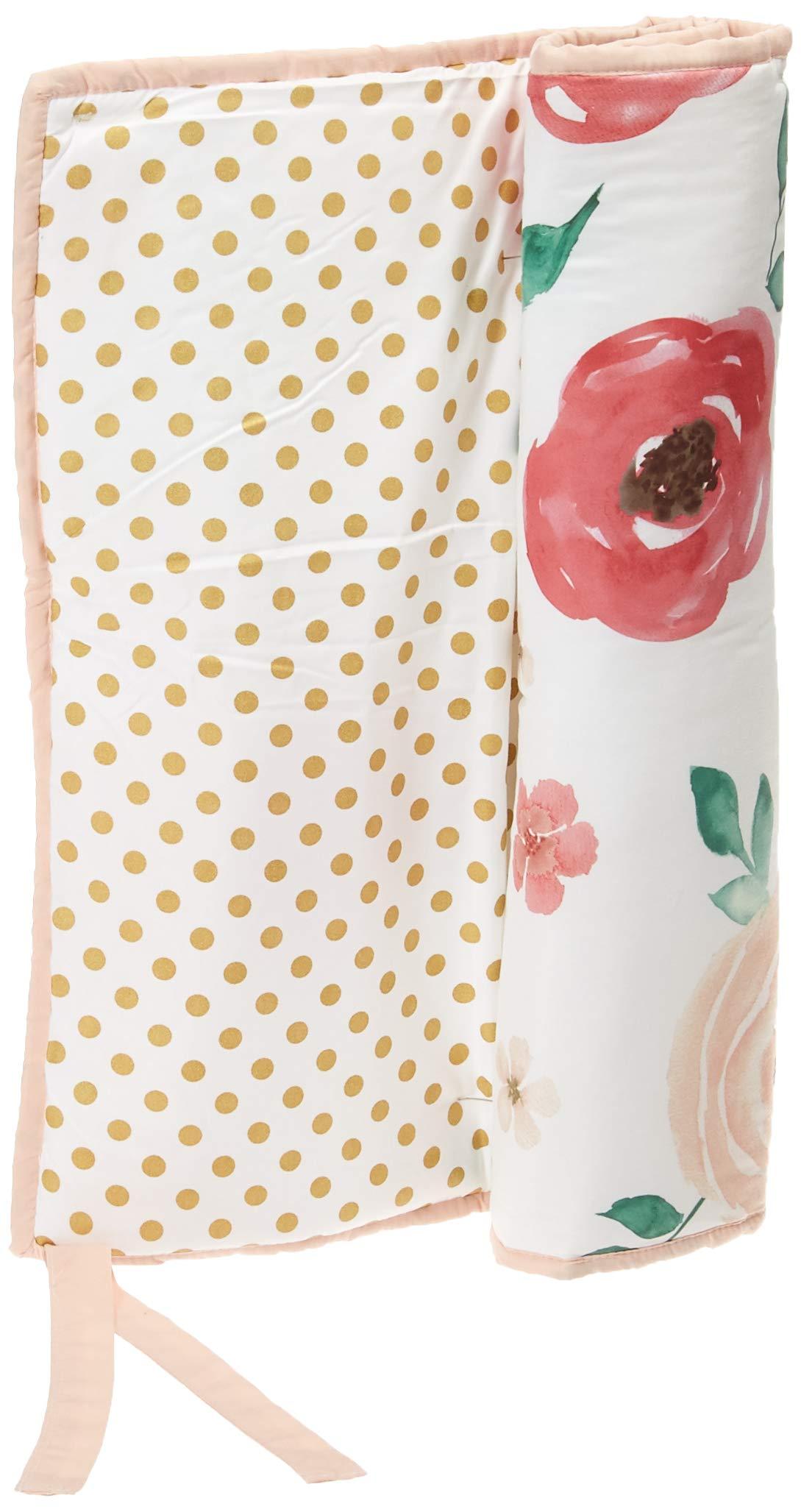 Amazon Com Sweet Jojo Designs Peach Green And Gold Long