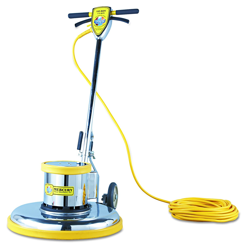 "Mercury Floor Machines PRO21 PRO-175-21 Floor Machine, 1.5 HP, 175 RPM, 20"" Brush Diameter"