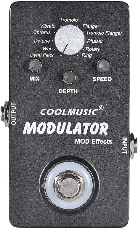 Fesjoy Modulator Effect Pedal Pedal de efectos de modulador ...