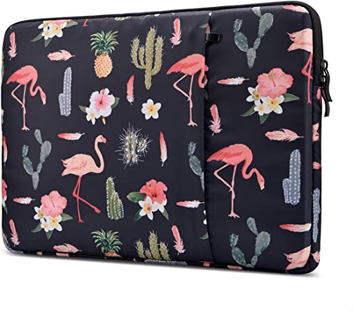 Grey Flag Pattern 15 Inch Laptop Computer Sleeve Notebook Cover Case Soft Computer Pouch Laptop Protective Bag Pouch