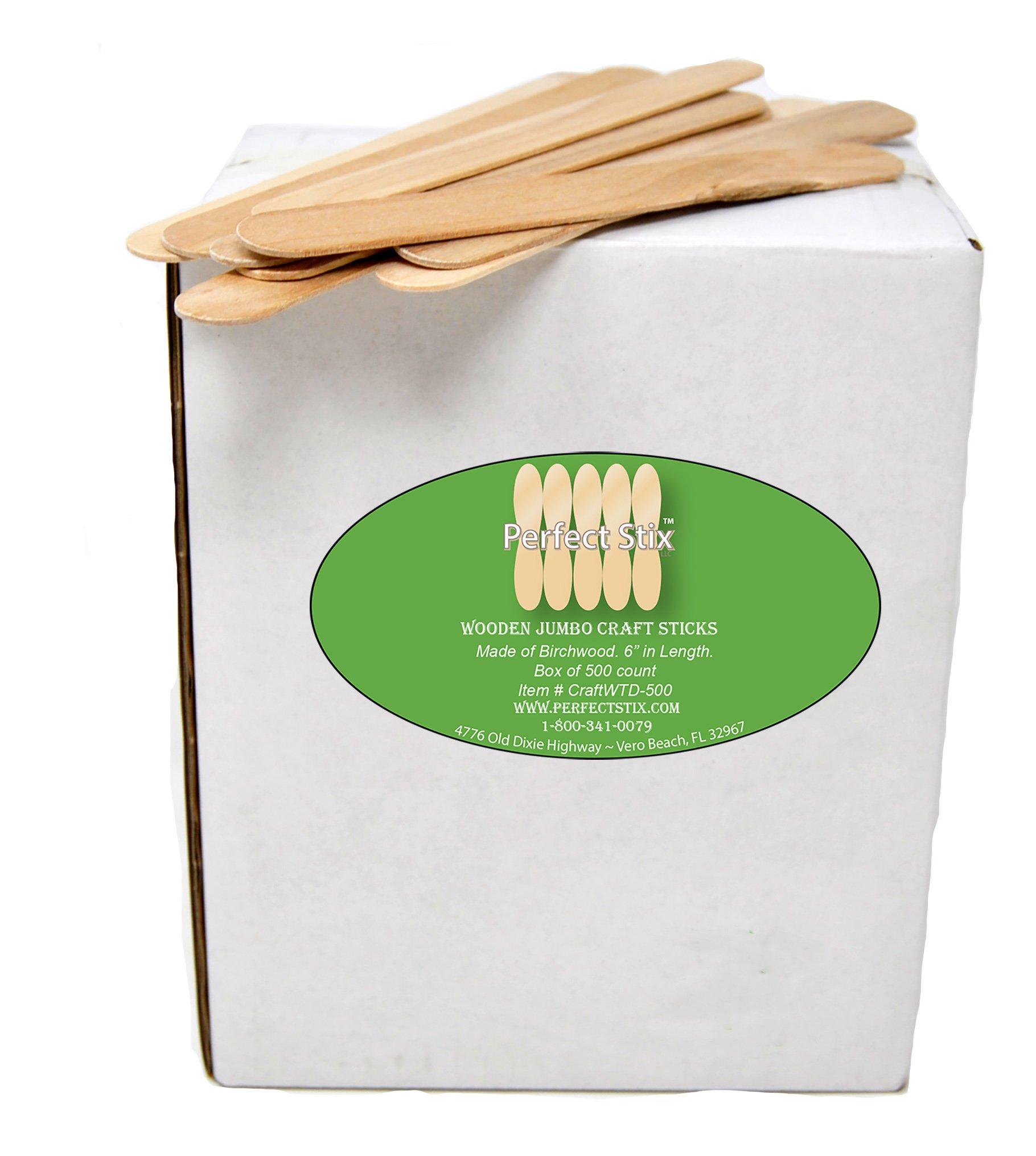 Perfect Stix Jumbo Craft Sticks (Pack of 500ct)