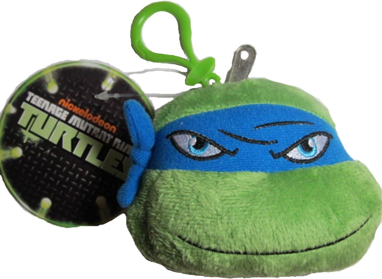Nickelodeon Teenage Mutant Ninja Turtles Leonardo Backpack Clip with Zipper Pocket
