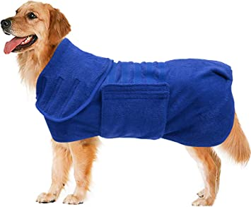 Geyecete Dog Drying Coat -Dry Fast Dog Bag