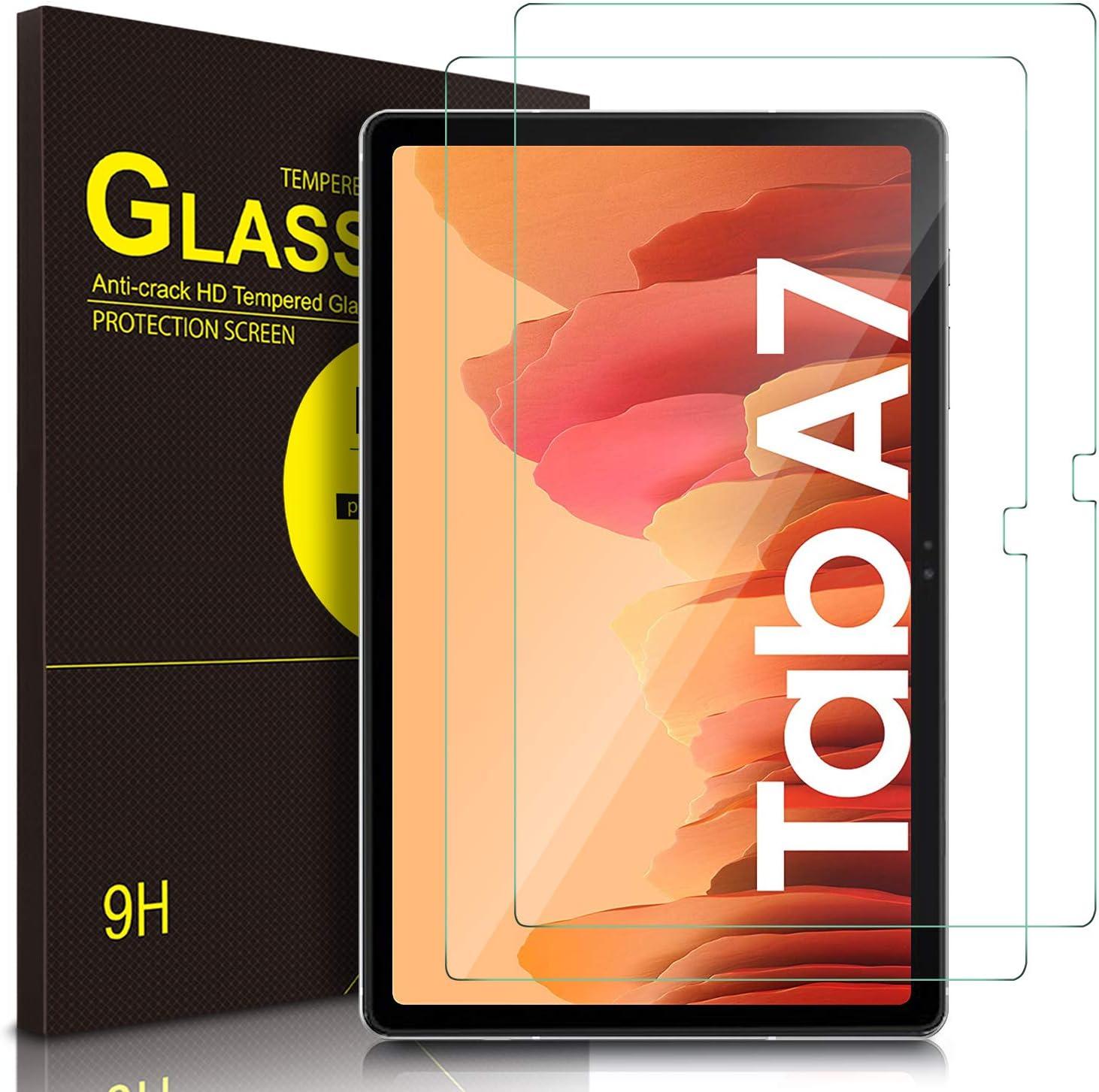 ELTD Protector de Pantalla para Samsung Galaxy Tab A 10.4 2020, 9H,2.5D, Vidrio Templado Glass Film Protector de Pantalla para Samsung Galaxy Tab A7 10.4 Pulgada dispositivoa, 2 Pack