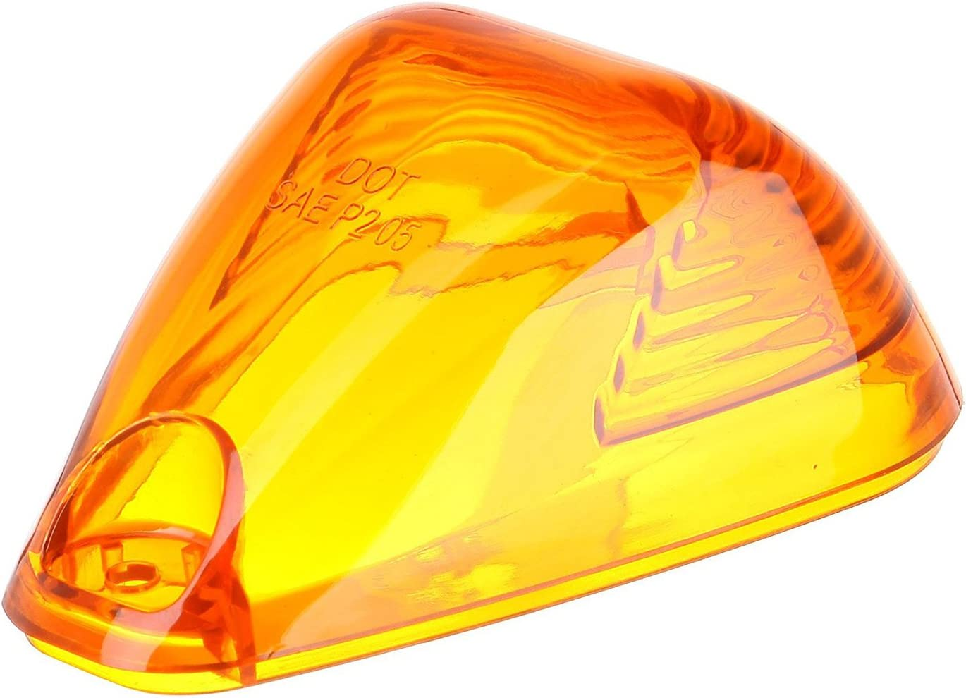 Cab Marker Light Cover Compatible with 99-16 Ford E-150//250//350 F150//250//350 Super duty Top Roof Clearance Lights Cover Amber