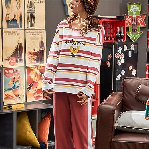 DUXIAODU Pijama de algodón para Mujer | Suave y cómodo | Elegante ...