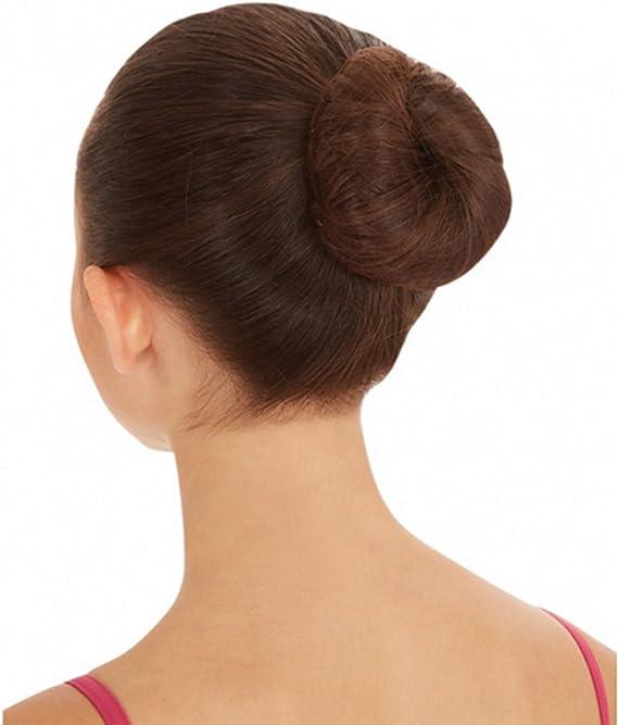 Pack of 60pcs 22 Hair Nets Invisible Elastic Edge Mesh Fancy Look Hair Dark Brown-60