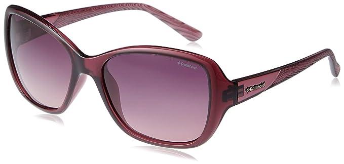 womens P8318 Rectangular Sunglasses Polaroid Kimsy
