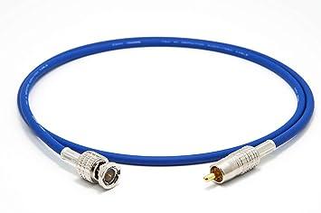 Mogami 2964 Digital Coaxial Cable 75 Ohm | Canare Gold RCA: Amazon.es: Electrónica
