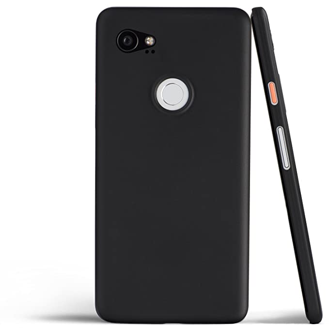 top fashion f4948 f8cac totallee Pixel 2 XL Case, Thinnest Cover Premium Ultra Thin Light Slim  Minimal Anti-Scratch Protective - for Google Pixel 2XL (Midnight Black)