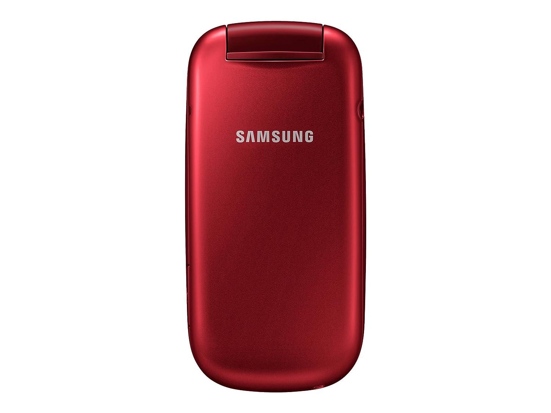 Samsung e1270 black price in india buy samsung e1270 black online on - Samsung Gt E1270 Mobile Phone Gsm Garnet Red Amazon Co Uk Electronics