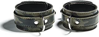 product image for Gunnery Adjustable Camo Leather Ankle Cuffs