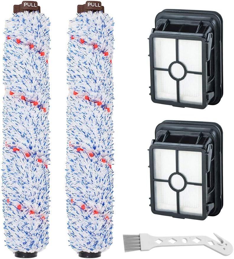 Paquete de 2 cepillos 2 filtros para asp. Bissell CrossWave