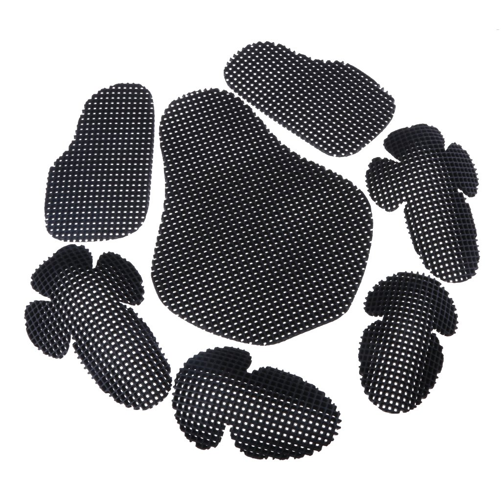 MagiDeal Motorcycle Elbow Back Shoulder Protection Pads Body Protector Racing Armour