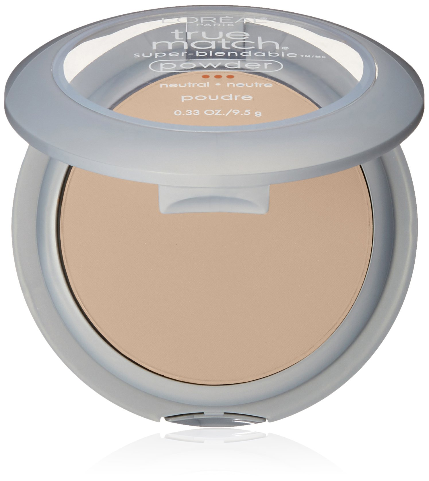 L'Oréal Paris True Match Super-Blendable Powder, Soft Ivory, 0.33 oz.