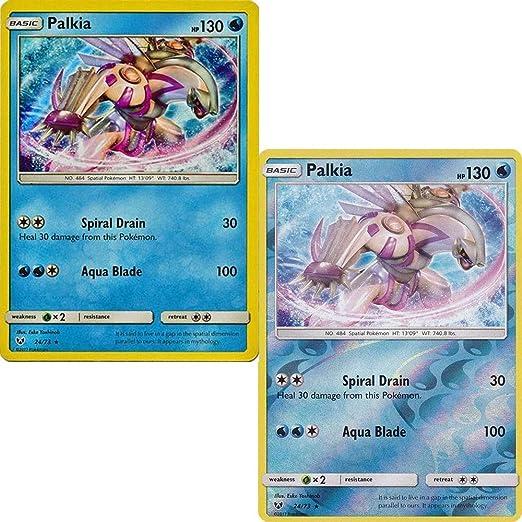 Pokemon Card Pack Palkia Sol y Luna: Legendario Shinny 24/73 ...
