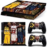 MATTAY Basketball Legend Stars Whole Body Vinyl Skin Sticker Decal Cover for PS4 Playstation 4 System Console and Controllers