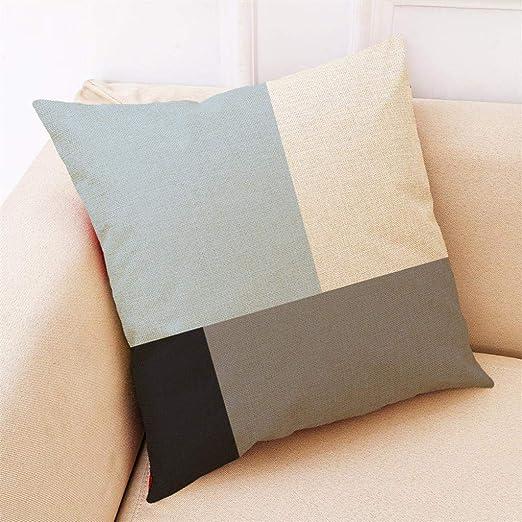 Almohada, TWBB Home Decor CojíN Cover Simple GeoméTrico Tiro Almohada Fundas Pillow: Amazon.es: Hogar